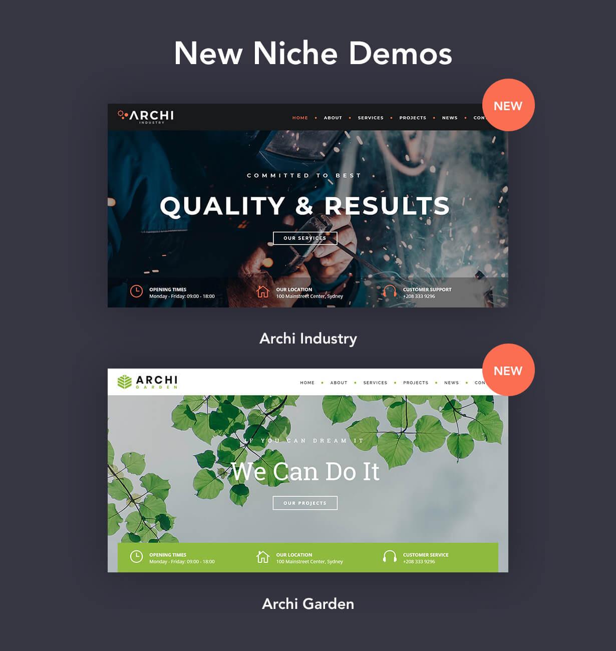 Archi - Interior Design WordPress Theme - 7