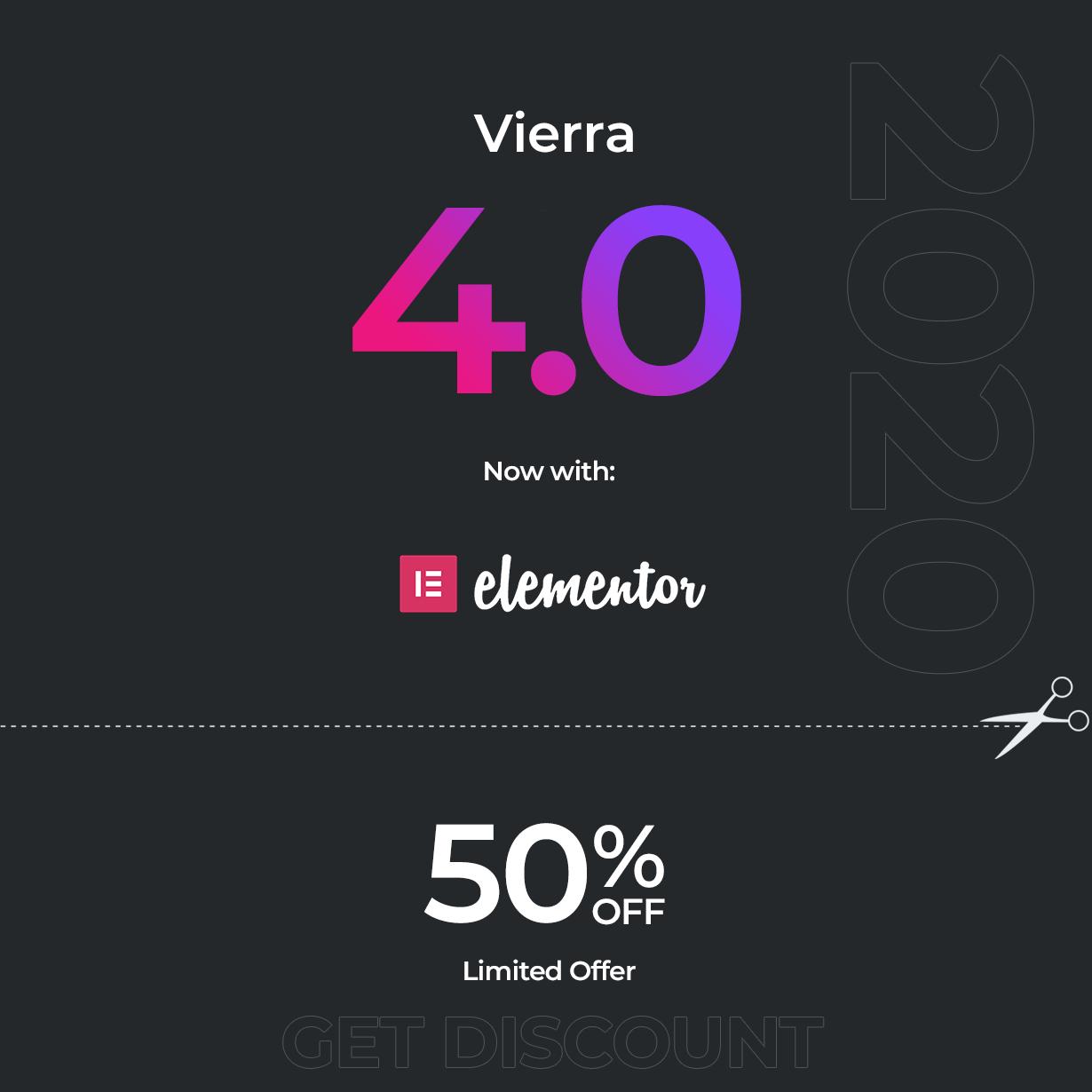 Vierra - Elementor Hotel, Resort, Inn & Booking WordPress Theme - 1